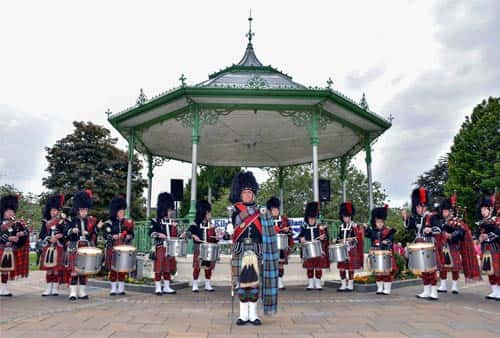The Kilsyth Thistle Pipe Band